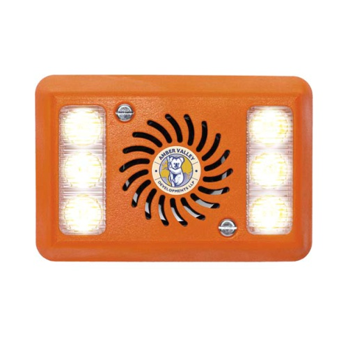 AVAL2-W WHITE LED ALARMALIGHT