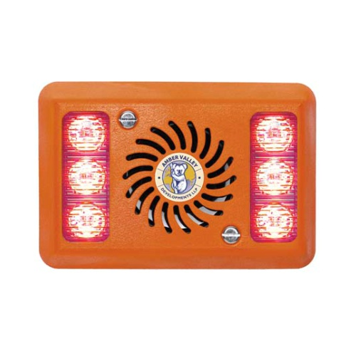 AVAL2280R RED LED ALARMALIGHT