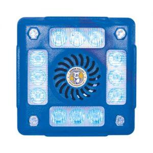 AVLA480B 4-POD BLUE LED ALARMALIGHT