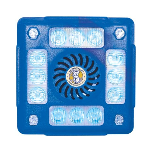 AVLA480B 4-POD BLUE LED ALARMALIGHT