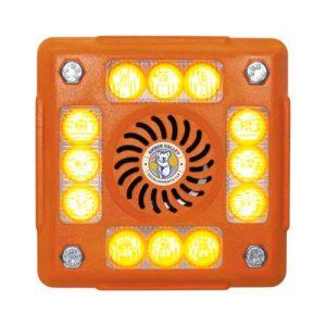 AVLA480O 4-POD ORANGE LED ALARMALIGHT