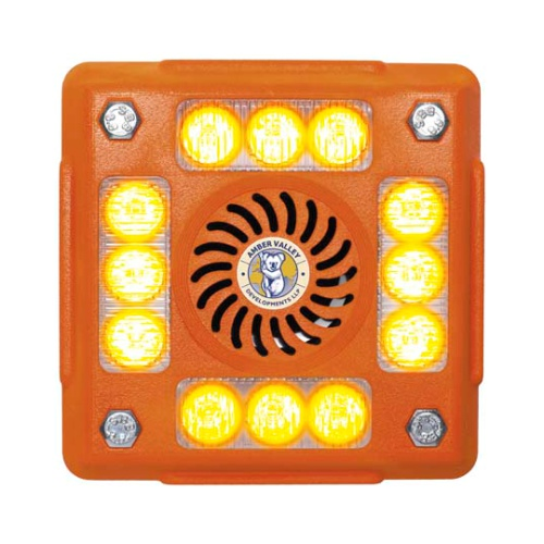 AVLA480O 4-POD ORANGE LED ALARMALIGHT