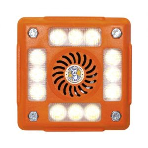 AVLA480W WHITE 4-POD LED ALARMALIGHT