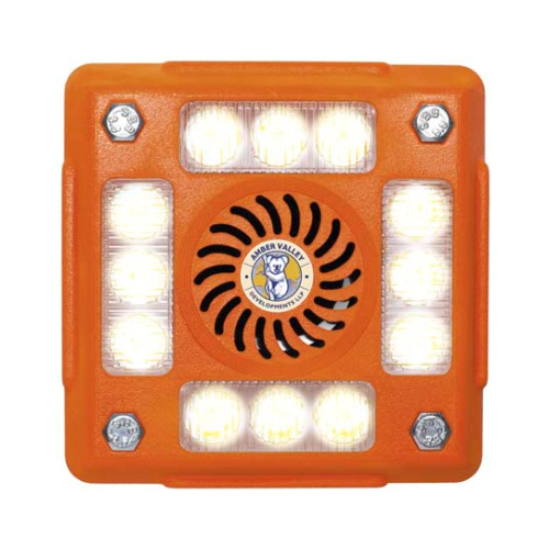 AVLA480W WHITE 4-POD LED ALARMALIGHT