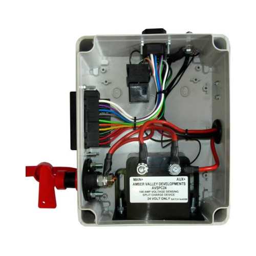 AVPC12 POWER CONTROL SYSTEMS RUN LOCK SYSTEM