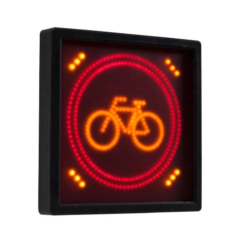 AVCSWL01 LED CYCLE WARNING SIGN