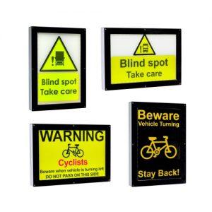 AVWS01-12-24 WARNING SIGN