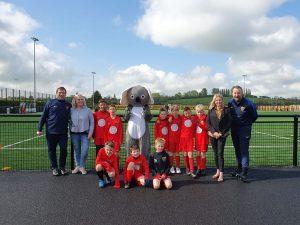 Amber Valley Koala meets Harborough Town FC U9 Royals