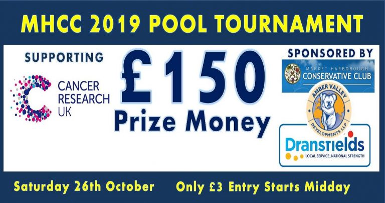 Market Harborough Conservative Club Pool Tournament